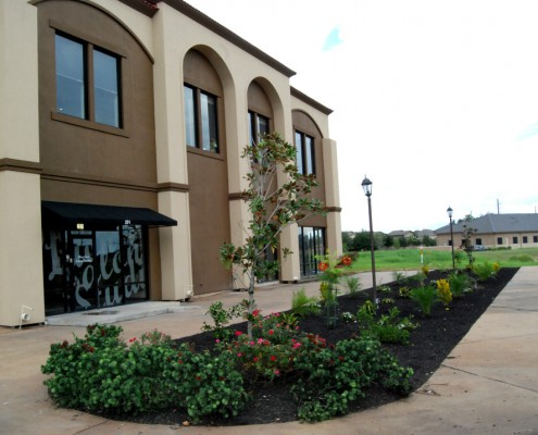 commercial landscaping, houston, pearland