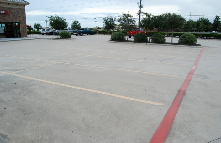 line striping, houston, pearland